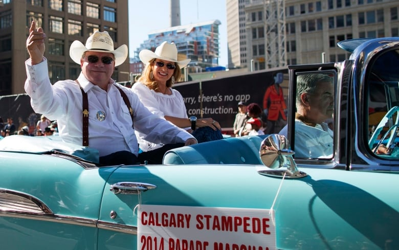 Famous Calgary Stampede Marshals Of The Past Century Cbc