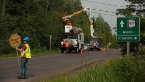 NB Power crews