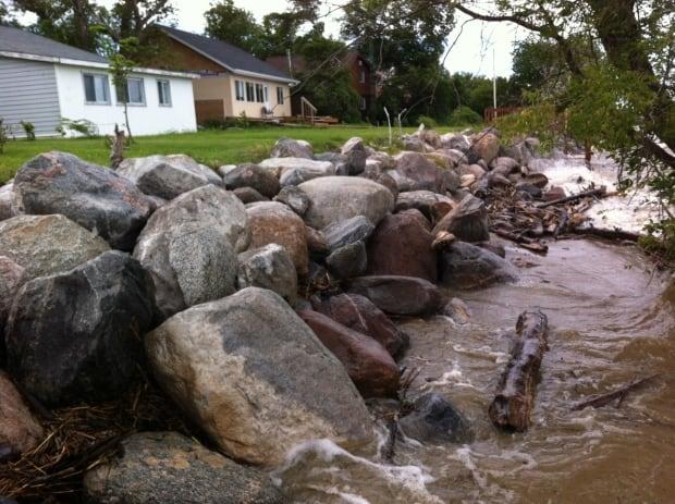 Delta Beach flooding
