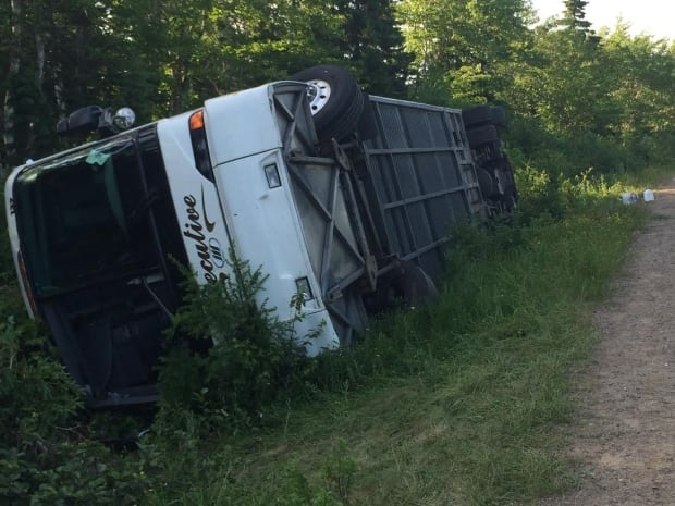 Cabot Trail rollover