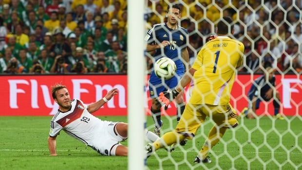 Mario Gotze's goal in extra time was the 171st goal scored at the Brazil World Cup, tying a record set in France 1998.