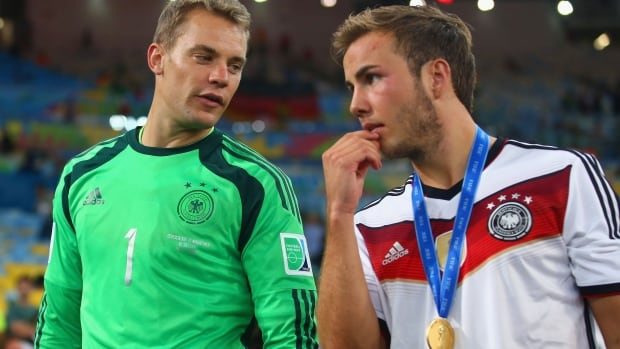 Manuel Neuer and Mario Gotze were two of Germany's best players in the World Cup final. A match and a tournament they deserved to win.
