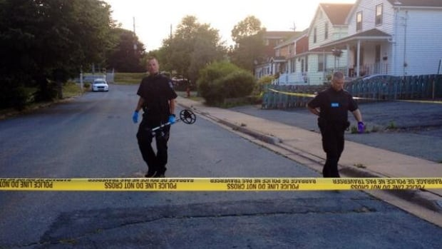 A number of homes near Lahey Road in Dartmouth were blocked off Monday morning as investigators searched for evidence.