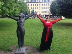 Lady Cove member in Riga, Latvia