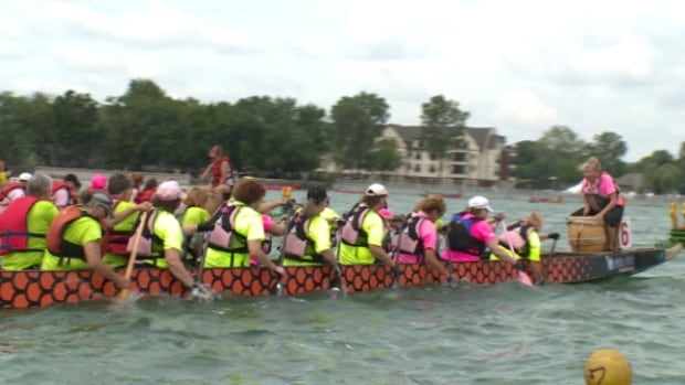 The 12th annual Dragon Boat Races in Tecumseh drew 90 teams, 2,000 racers and raised $250,000.
