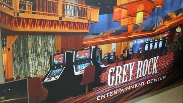 An artist's rendition of the proposed Grey Rock Entertainment Centre that is being built in Edmundston. The centre's gaming facility will be operated by Sonco Gaming.