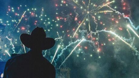 calgary stampede fireworks