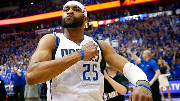 Vince Carter averaged 11.9 points, 3.5 rebounds and 24.4 minutes in 81 games off the bench for the Mavericks last season.