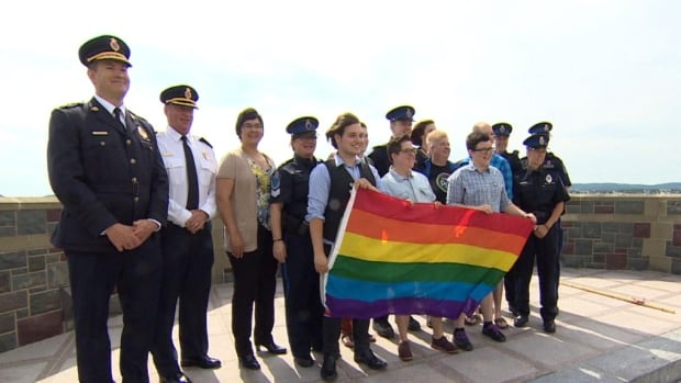 Pride Week kicked off Monday with a flag-raising ceremony in St. John's.