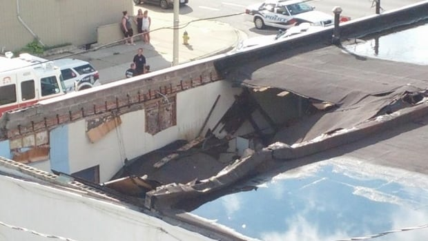 A west-end property owner has not complied with a city work order that called for a collapsing building to be secured.