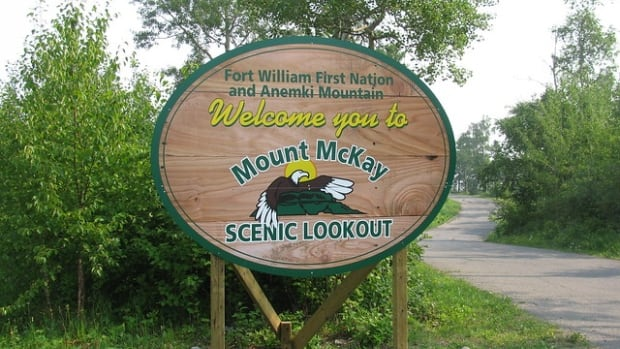 Two men became lost in the dark while trekking on Thunder Bay's Mount McKay. Thunder Bay Fire Service rescued the pair Tuesday night.