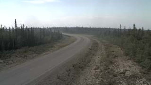 On July 16 a live webcam on Highway 3 near Chan Lake, just outside of Behchoko, now shows an area devastated by fire.