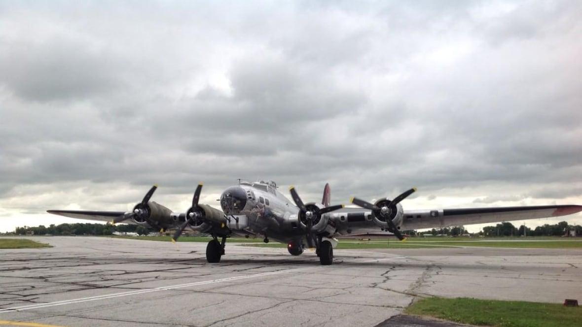 World War II bomber on display in Penticton, B.C ...