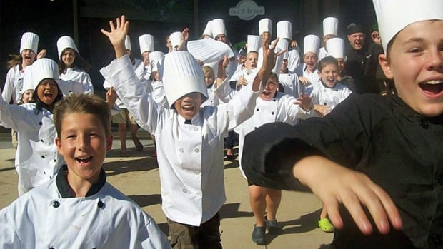 Junior chefs in the making run loose at Chef Summer School, a camp for kids that runs in seven Ontario communities.