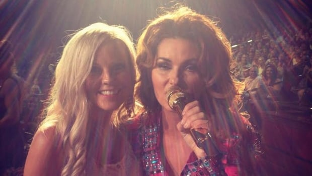 Cherie Taylor was thrilled to have her photo taken with her favourite singer, Shania Twain, in Las Vegas.
