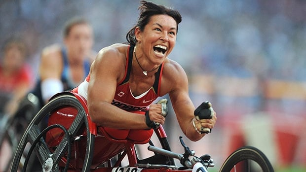 one of Canada's most decorated athletes, Chantal Petitclerc holds world records over three different wheelchair distances, and has raced to 21 Paralympic medals, including 14 gold.