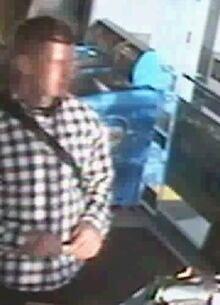 Surveillance image - dog stabbing suspect