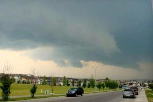 Severe storm Calgary