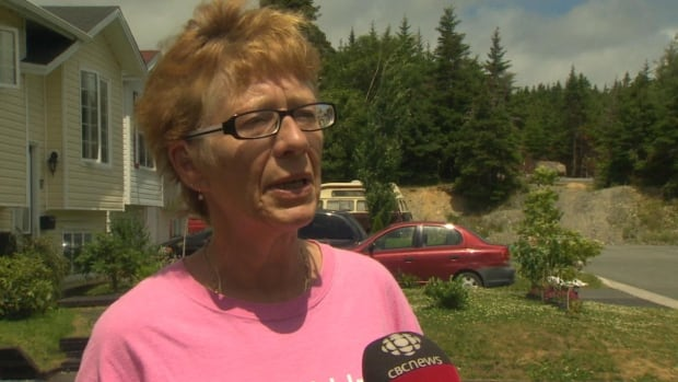 Longtime Goulds resident Carol Ann Parrell is upset over plans for a new development that would add 22 duplexes to her neighbourhood.