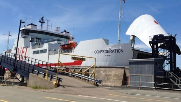 The MV Confederation is out of service due to mechanical issues.