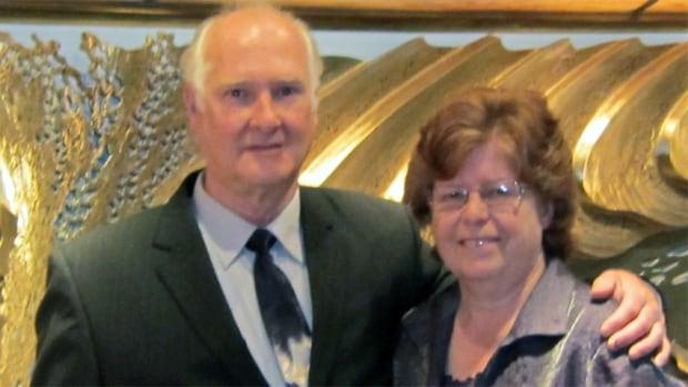 Carolyn Hosking and her late husband, Doug
