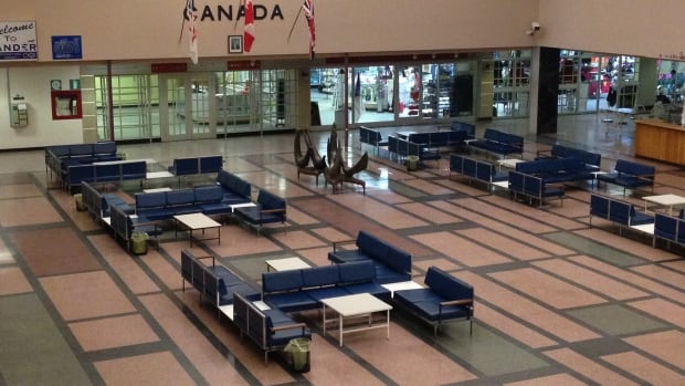 The International Departures Lounge at Gander Airport is on Heritage Canada The National Trust Top Ten Endangered Places in 2014.