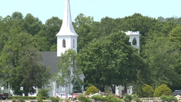 Mahone Bay's churches are a celebrated sight in Nova Scotia.