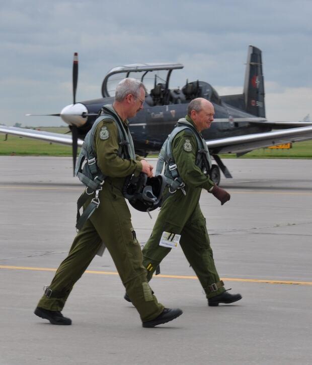 Paul Goddard wing commander