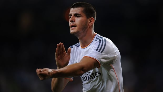 Alvaro Morata signed a five-year deal with Juventus on Saturday.