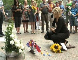 dutch embassy vigil russia protest
