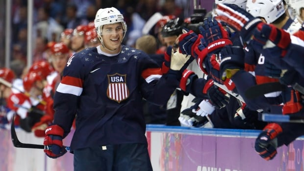 St. Louis Blues and United States forward T.J. Oshie became known for his shootout prowess after scoring four goals, including the winner, in an eight-round shootout against Russia at the 2014 Sochi Olympics in February.
