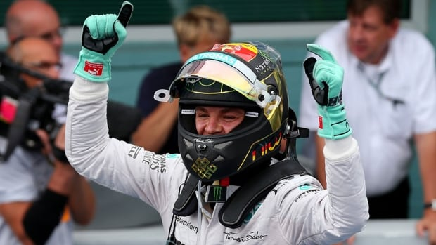 Nico Rosberg stretched his lead in the F1 drivers championship with a win at the German Grand Prix on Sunday.