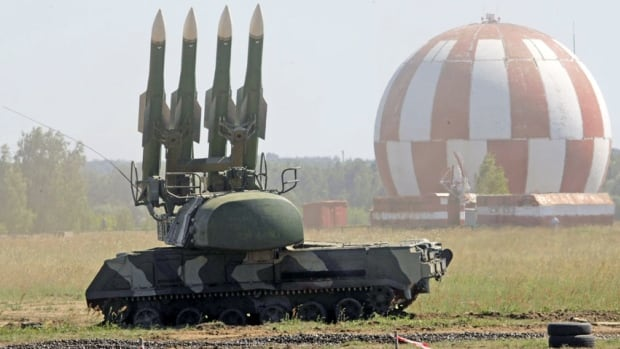A Russian SA-11 launcher is displayed at a military show in this 2010 file photo. If Ukrainian rebels shot down the Malaysian jetliner, killing 298 people, it may have been because they didn't have the right systems in place to distinguish between military and civilian aircraft, experts say.