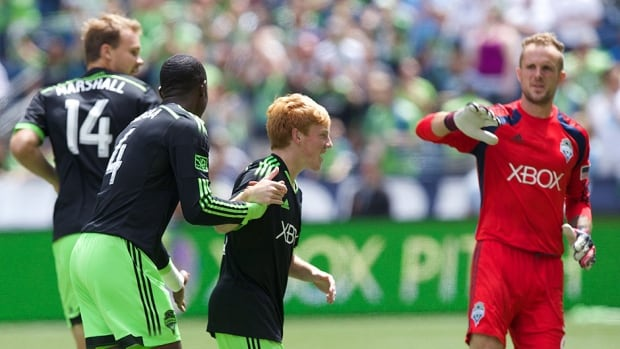 Xander Bailey, 18, got a chance to start a friendly between the Seattle Sounders and Tottenham on Saturday night.