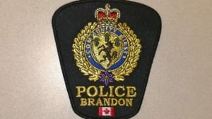 Brandon police badge