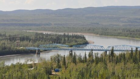 Pelly Crossing, Yukon bridge