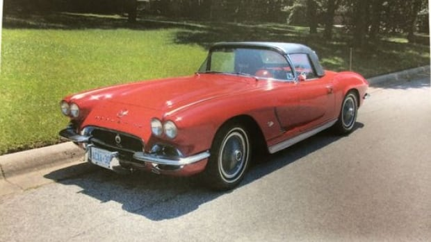 The 1962 Chevrolet Corvette was stolen earlier this month from a lot in southeast Calgary.