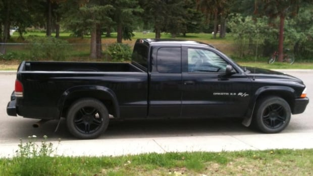 This black Dodge Dakota was stolen from Riverdale this weekend, one of three recent vehicle thefts from the neighbourhood.