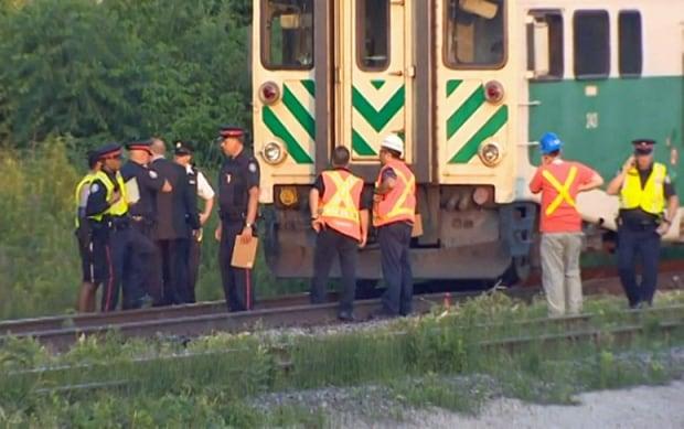 Pedestrian struck, killed by GO Train in Toronto
