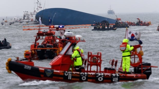 The Sewol sinking was South Korea's worst maritime disaster in more than four decades, and left more than 300 people dead.