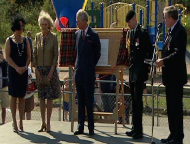 Carhart and Prince Charles
