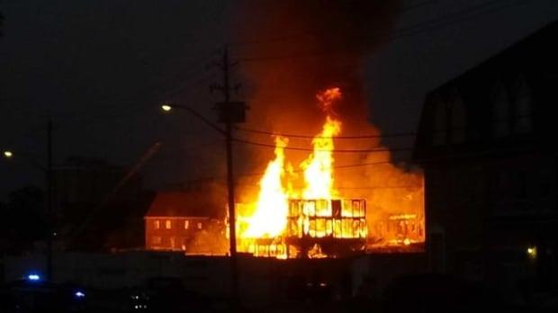 Kitchener fire