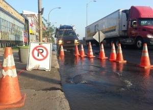 decarie water main break