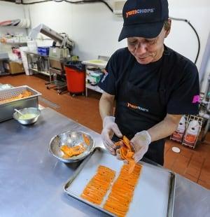 Michael Abramson carrot lox