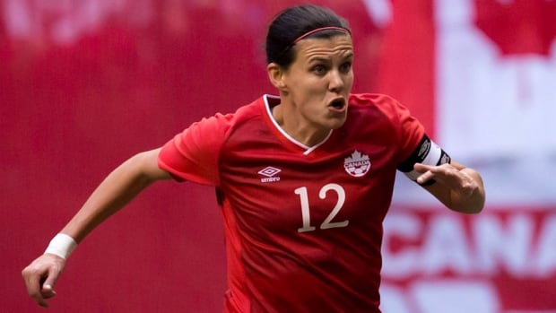 Canadian Christine Sinclair scored the first hat trick in Portland Thorns history last week.