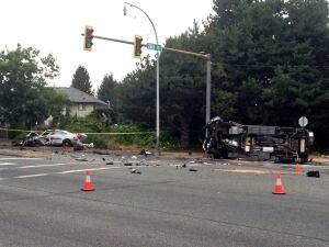 Langley RCMP crash