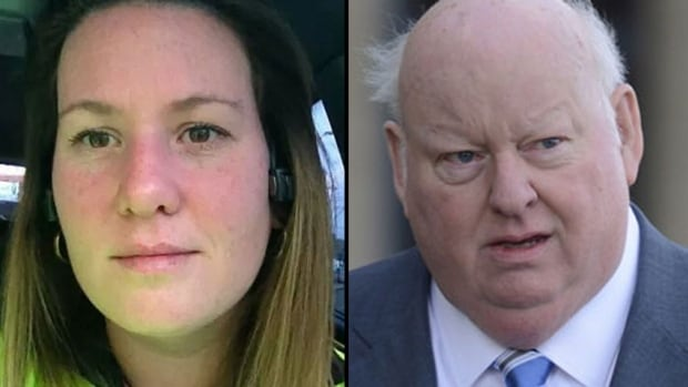 Mike Duffy has had a 'warm' conversation with Karen Duffy, left, a Peruvian woman who alleges in a lawsuit that she is his biological daughter.