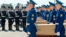 MH17 Ukraine Malaysia Dutch coffins July 23