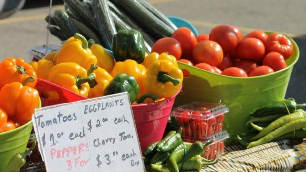 Expand your horizons and try out a new farmers' market this weekend.