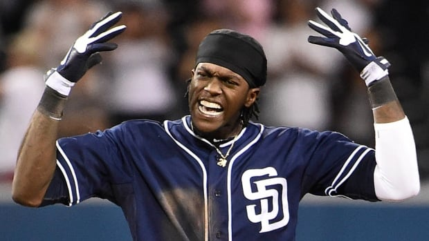 San Diego Padres outfielder Cameron Maybin was suspended for a positive drug test on Wednesday.